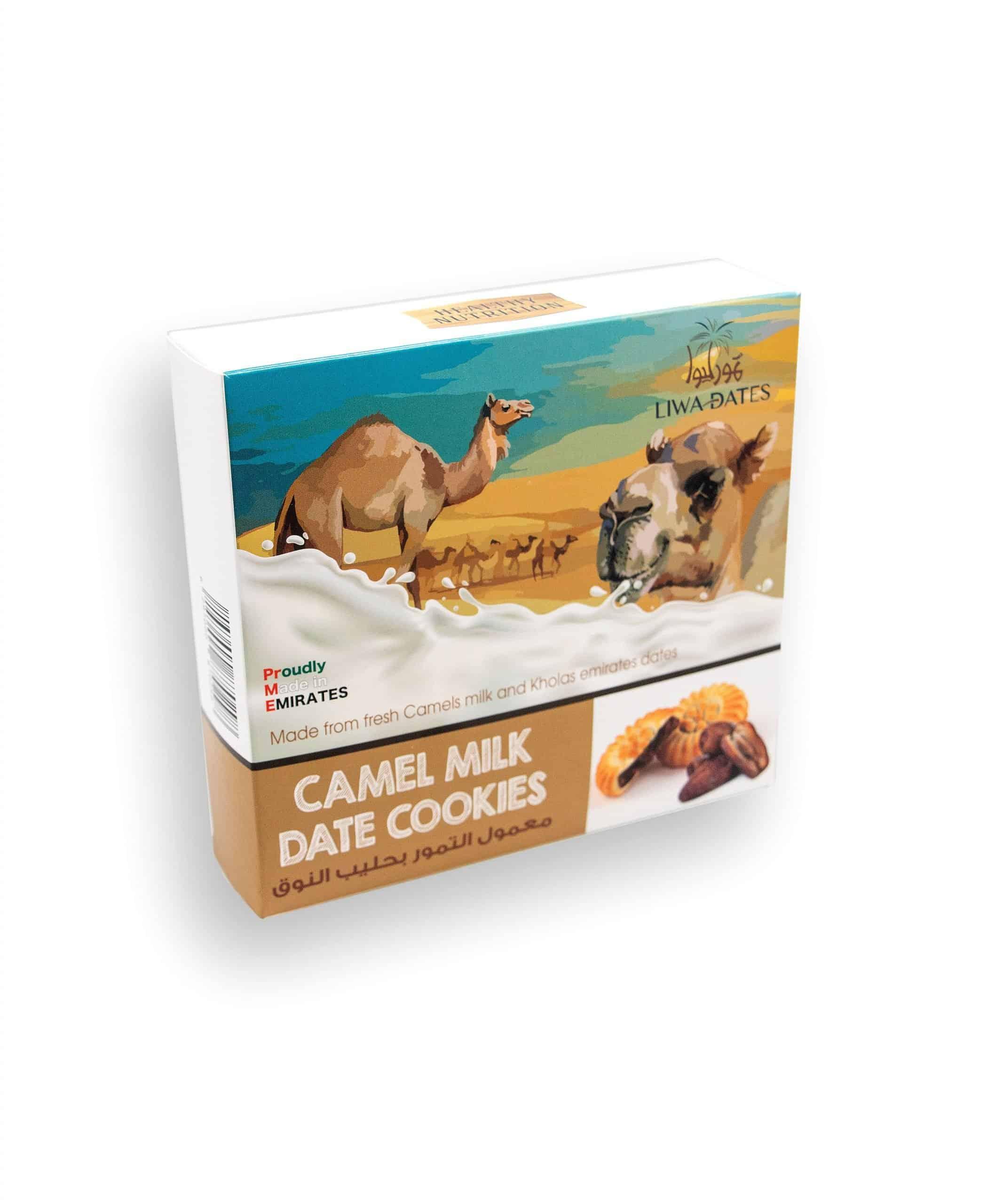 Camel Milk date cookies