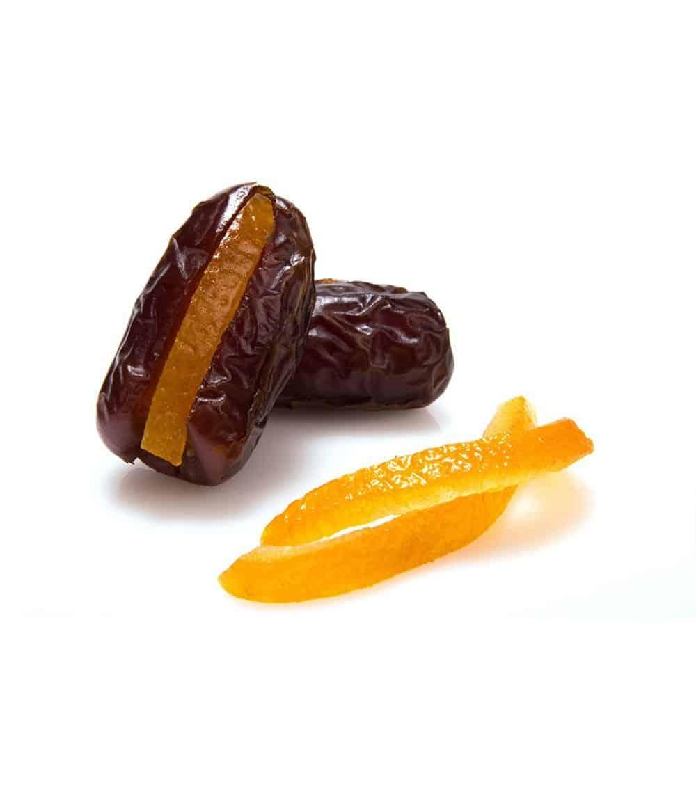 orange filled dates